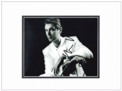 David Byrne Signed Photo - Talking Heads